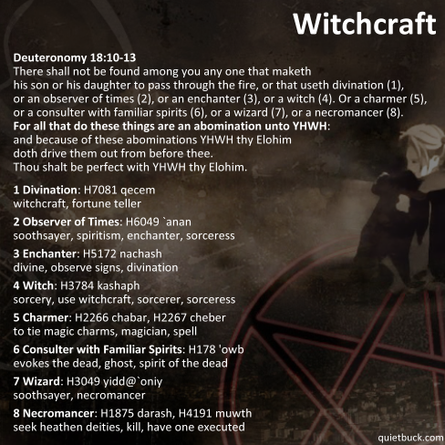 YHWH - Witchcraft