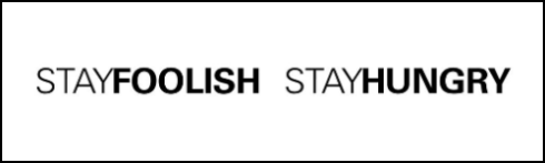 StayFoolishStayHungry