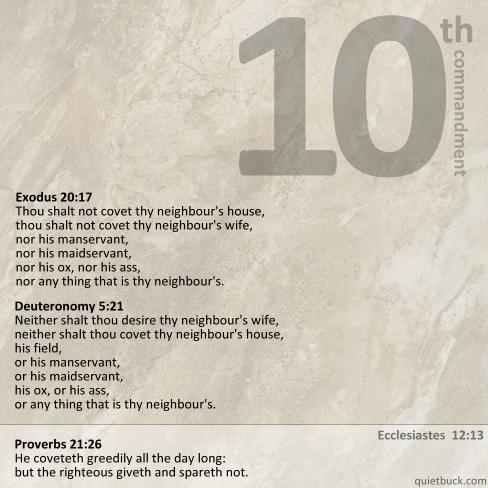 YHWH - Comand10